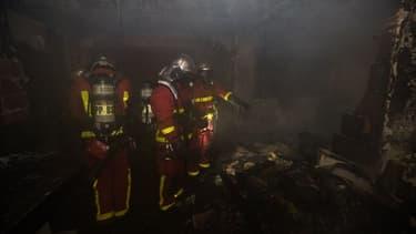 L'incendie a fait 2 blessés graves