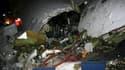 Au moins 77 des 106 occupants d'un Boeing 727 de la compagnie Iran Air ont été tués dans l'accident de l'appareil, dimanche, dans le nord-ouest de l'Iran. L'épave de cet avion qui tentait de se poser par mauvais temps s'est brisée en touchant le sol. /Pho