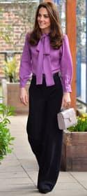Le look à copier de la semaine : la blouse de Kate Middleton