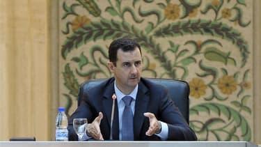 L'opposition syrienne prévient qu'elle rejettera le plan de transition politique proposé par Kofi Annan s'il n'appelle pas explicitement au départ du pouvoir de Bachar al Assad. /Photo prise le 26 juin 2012/REUTERS/SANA