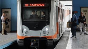 Les 12 lignes du métro de Mexico vont se convertir à l'électricité verte.