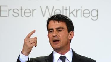"""Manuel Valls a affirmé que """"personne ne peut mettre en doute la crédibilité de la France""""."""