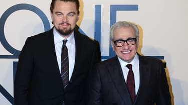 Leonardo DiCaprio et Martin Scorsese à New York en octobre 2013
