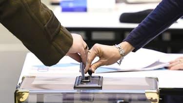 Bureaux de vote. - Damien Meyer - AFP