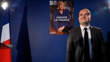 David Rachline, le directeur de campagne de Marine Le Pen, le 26 avril 2017.