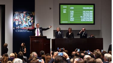 """""""Les femmes d'Alger"""" de Picasso s'est adjugé en mai dernier à plus de 179 millions de dollars chez Christie's à New York."""