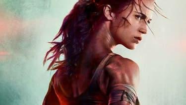 Alicia Vikander dans Tomb Raider.