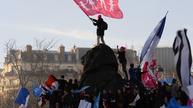 Le collectif La Manif pour tous a appelé à manifester le 5 octobre à Paris et Bordeaux (photo d'illustration).