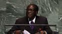 Le président zimbabwéen Robert Mugabe le 26 septembre 2012 aux Nations unies