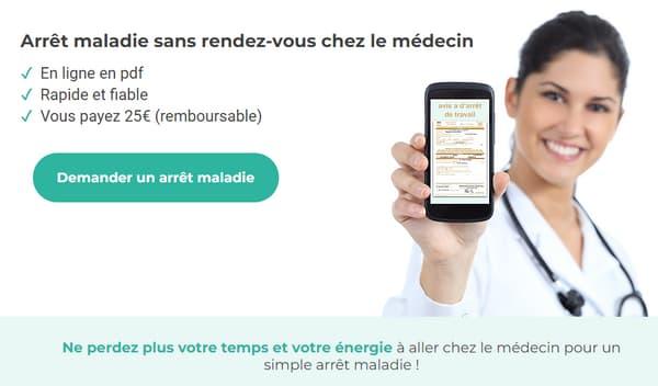 Arretmaladie.fr: la version du site avant la polémique