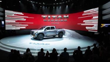 Nissan a dévoilé au salon de Détroit 2016 le Titan Warrior Concept.