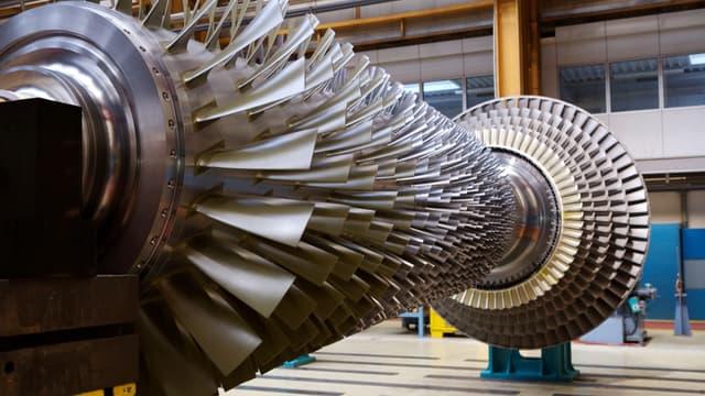 Les turbines d'Alstom équipent les réacteurs nucléaires.