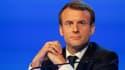 Emmanuel Macron, le 23 novembre 2017.