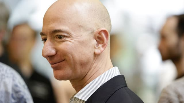 Le fondateur et patron d'Amazon, Jeff Bezos.