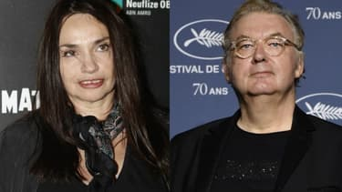 Béatrice Dalle et Dominique Besnehard
