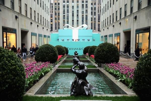La boîte bleue de Tiffany est devenue l'emblème de la marque