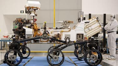 Plusieurs pièces de Curiosity ont été fabriquées sur le sol français.