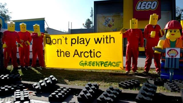 Des militants de Greenpeace au Chili, le 24 juillet dernier.
