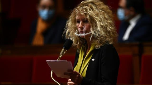 La députée ex-LREM Martine Wonner (groupe Libertés et Territoires), le 20 octobre 2020 à l'Assemblée nationale, à Paris