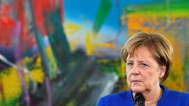 La chancelière allemande Angela Merkel à Berlin, le 11 octobre 2018
