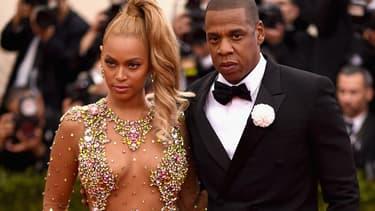 Jay Z et Beyoncé au gala du Met en 2015