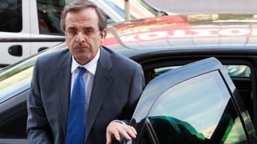 Antonis Samaras estime que son pays sera sorti de la crise d'ici six ans.