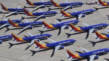Le 737 MAX est cloué au sol depuis mars 2019