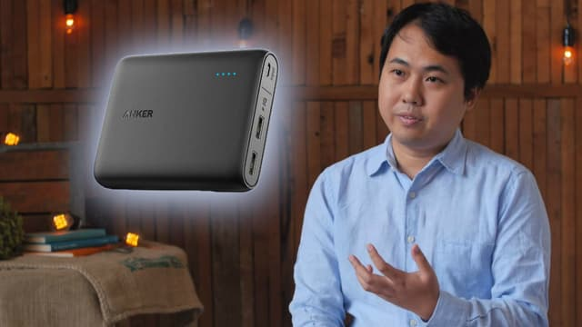 En 2011, cet ancien ingénieur de Google a tout plaqué pour créer une société d'accessoires pour smartphones basée en Chine. Baptisée Anker, la start-up fait un carton sur Amazon.