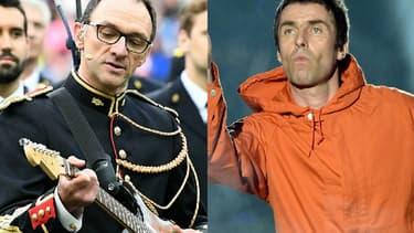 """Liam Gallagher n'a pas vraiment apprécié la reprise de """"Don't Look Back in Anger"""" par la Garde Républicaine avant le match France-Angleterre au Stade de France"""