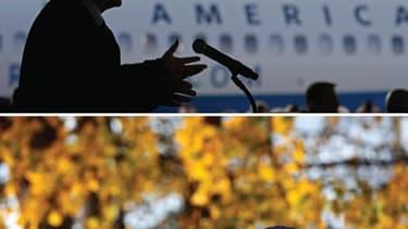 A trois jours d'un scrutin qui s'annonce comme l'un des plus serrés de l'histoire américaine, Barack Obama et Mitt Romney ont sillonné samedi les Etats pivots et lancé un ultime appel à la mobilisation de leurs partisans le 6 novembre. Le président démocr