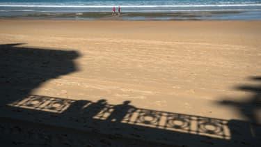La plage de la Concha, à Saint Sébastien, en Espagne.