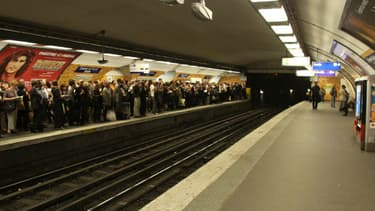 La station Charles de Gaulle Etoile, en 2010.