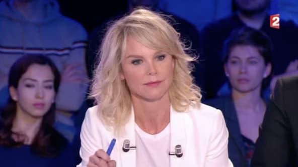"""Vanessa Burggraf dans l'émission """"On n'est pas couché"""" sur France 2"""