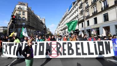 Manifestants d'Extinction Rebellion. (Photo d'illustration)