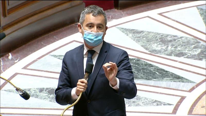 """""""Vos propos font honte à ceux qui protègent nos concitoyens"""": Darmanin reproche aux insoumis de bouder le rassemblement des policiers"""