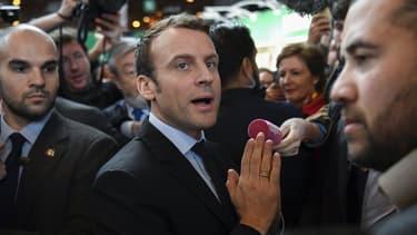 Emmanuel Macron cette semaine