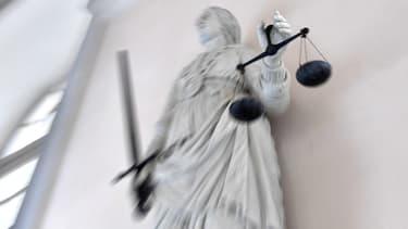 La Justice. (illustration)
