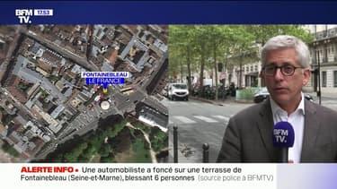 Une automobiliste a foncé sur une terrasse de Fontainebleau, en Seine-et-Marne, blessant six personnes