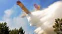 L'incendie qui s'est déclenché jeudi en milieu de journée à Lacanau (Gironde) et a détruit 650 hectares de forêt et de broussailles a été maîtrisé par les pompiers toujours présents sur les lieux vendredi soir. /Photo prise le 17 août 2012/REUTERS/Loïc Le