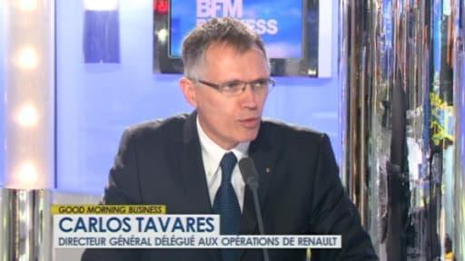 Carlos Tavares sur BFM Business ce mercredi 10 avril