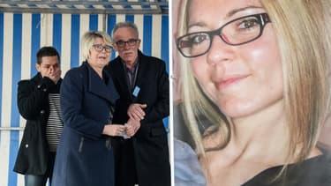 Les proches d'Alexia Daval, le 5 novembre 2017