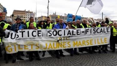 Gilets jaunes à Marseille le 5 décembre 2019