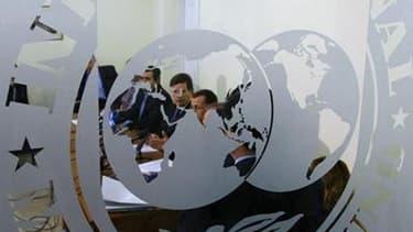 Interné dans l'immense complexe pénitentiaire de Rikers Island depuis lundi soir, Dominique Strauss-Kahn doit ajouter à un quotidien carcéral des pressions croissantes pour obtenir sa démission du poste de directeur général du FMI. /Photo d'archives/REUTE