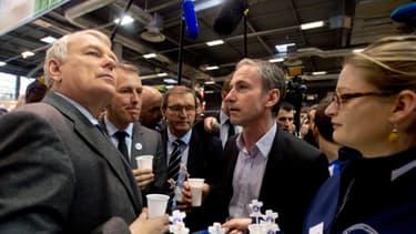 Le Premier ministre Jean-Marc Ayrault au salon de l'Agriculture 2014, lundi 24 février