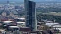La tour de la BCE à Francfort
