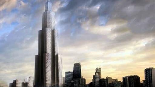 L'immense structure pourra accueillir 30.000 personnes, comptera 4.450 logements, des écoles, des terrains de sport...