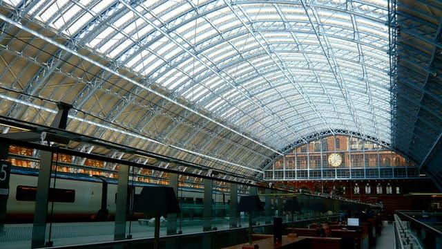 La gare londonienne de St Pancras.
