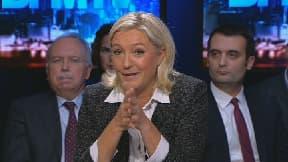 Marine Le Pen était l'invitée de BFM Politique, dimanche 24 novembre.