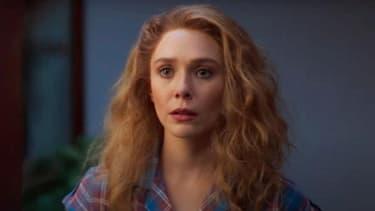 """Elizabeth Olsen dans l'épisode 4 de """"WandaVision"""""""