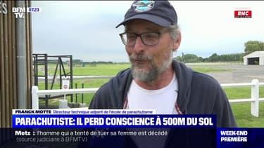 Nord: un parachutiste perd conscience à 500 mètres du sol
